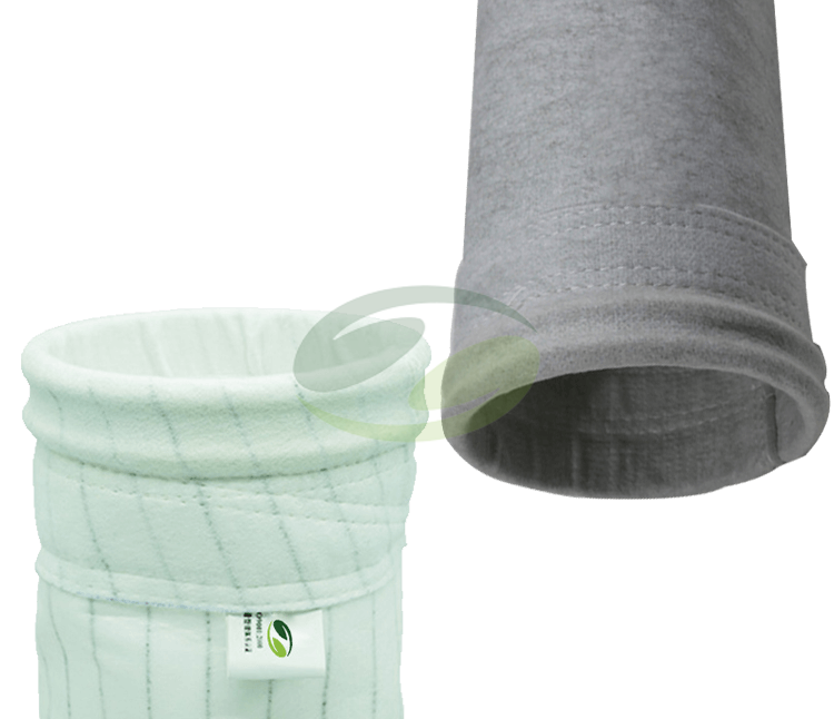 Anti-static polyester filter bag