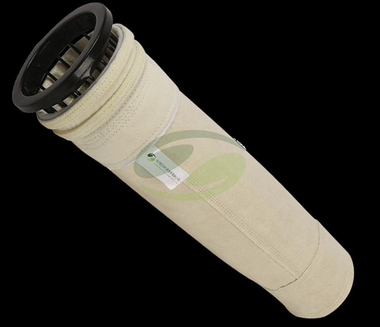 High temperature fiberglass filter bag